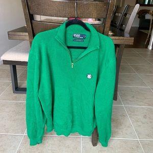 green polo ralph lauren knit